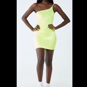Forever 21 Dresses - Neon green dress from forever 21